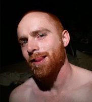 spunked-face-ginger-man