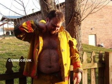 workman hairy belly