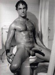 ha vintage hairy dad jerk