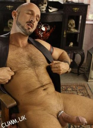 leather daddy nipples fuck