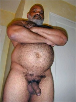 mature gay black hung