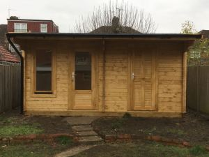 Bespoke Wembley Log Cabin