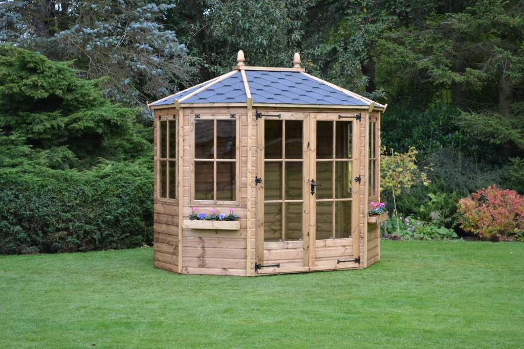 Regency summerhouse 8x6 Wingrove