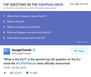 goggle questions brexit