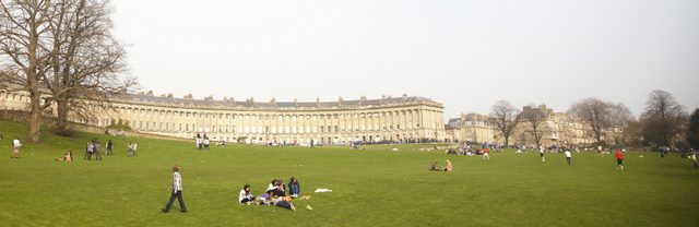 De Londres a Bath - Royal Crescent
