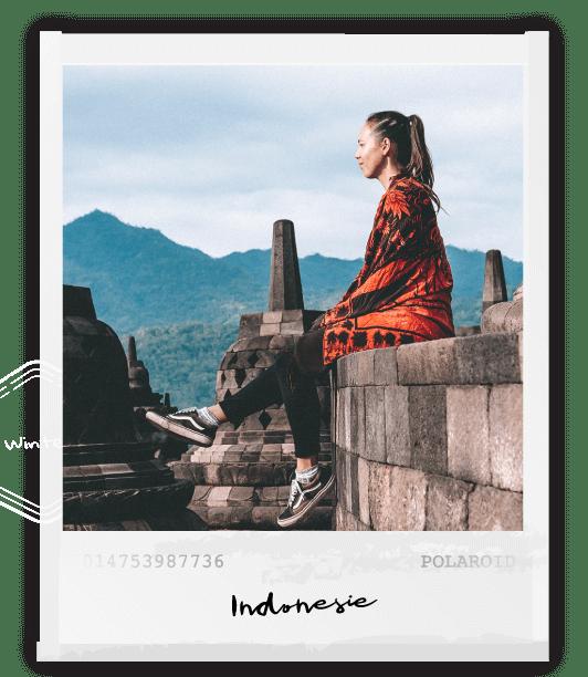 polaroid foto Indonesie