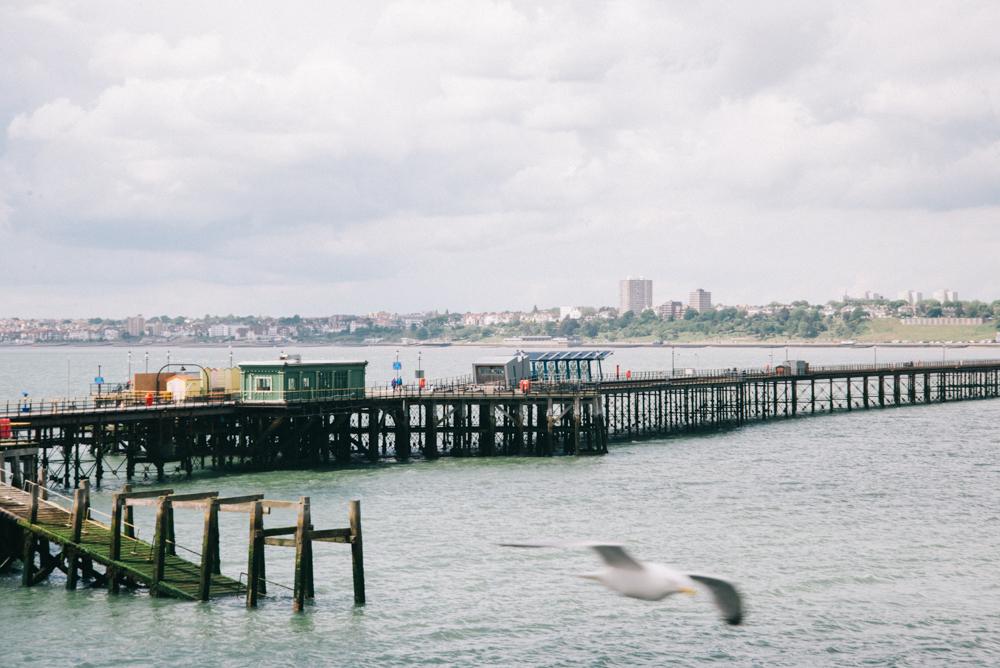 Longest pier Southend-on-sea