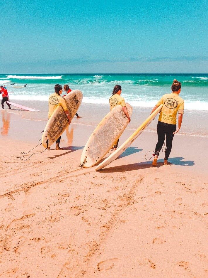Surfsters op Fuerteventura