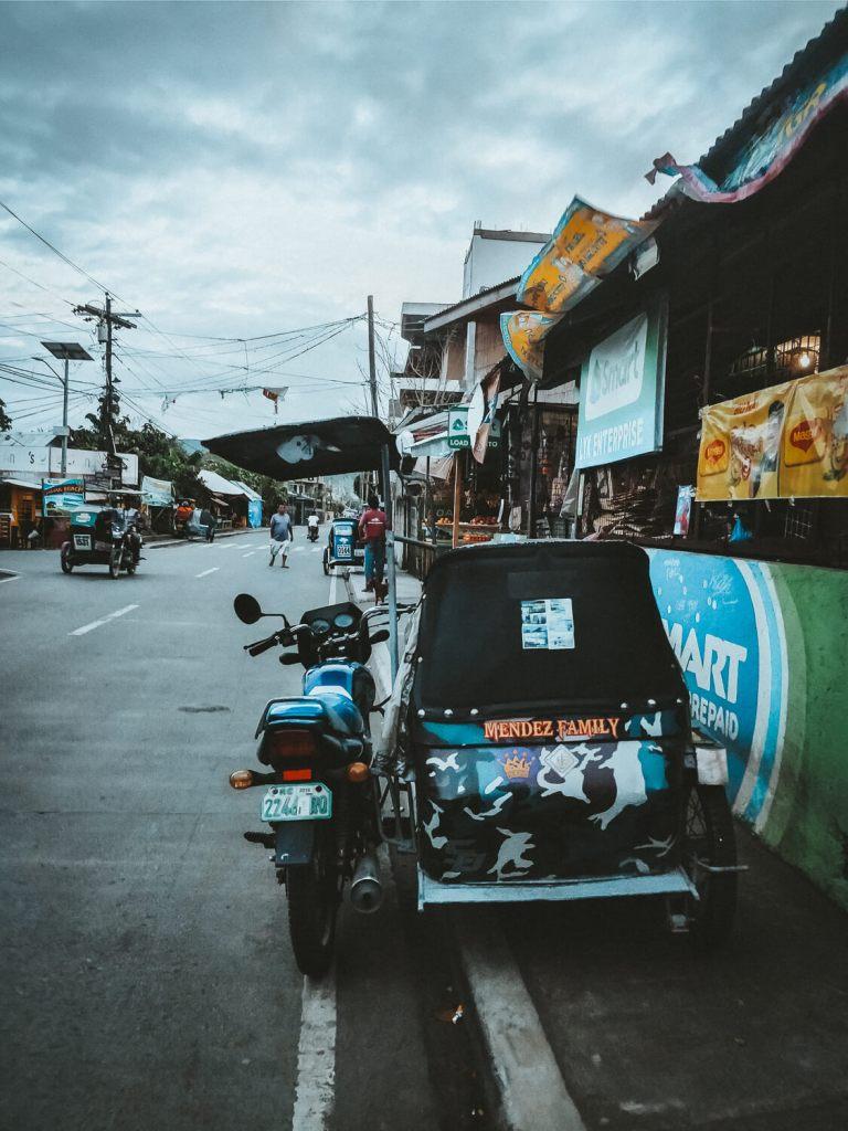 tricycle in de Filipijnen