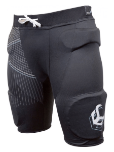 crash pants zwart
