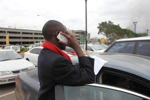 (Early July)Lone Felix Makes a call at JKIA before when about to depart for a global leadership Forum in South Africa