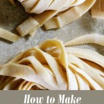 Learn how to make pasta at home! With this simple, 2-ingredient pasta recipe, you can enjoy homemade pasta any night of the week. You'll get delicious noodles every time!