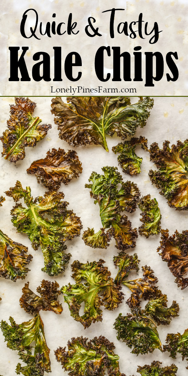 Enjoy crispy kale chips every time with this no-fail technique! Kale chips are a delicious & versatile treat that make for a wonderfully healthy snack. They taste so good that I dare say they are a little bit addictive. Plus you won't believe how easy they are to make!