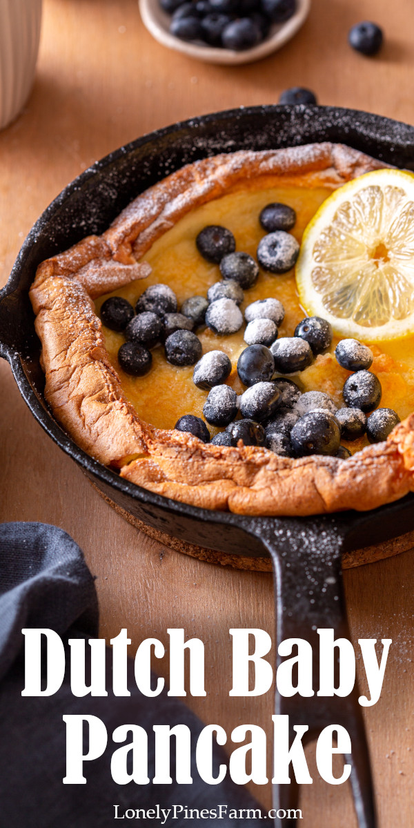 Have you heard of Dutch Babies? Also called German Pancakes, this light, custardy breakfast treat is perfect for a lazy Sunday morning. So easy to make, but no one will know! Plus it tastes heavenly! Isn't it time to treat yourself?