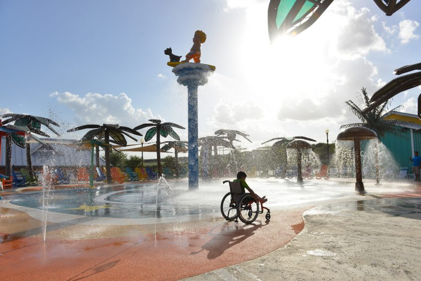 The World S First Wheelchair Accessible Water Park Opens