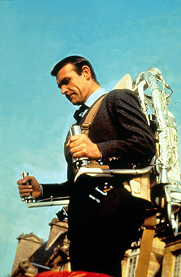 Connery as Bond