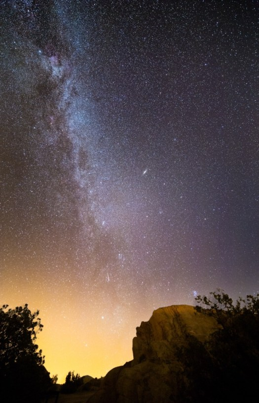 Andromeda and the Milky Way