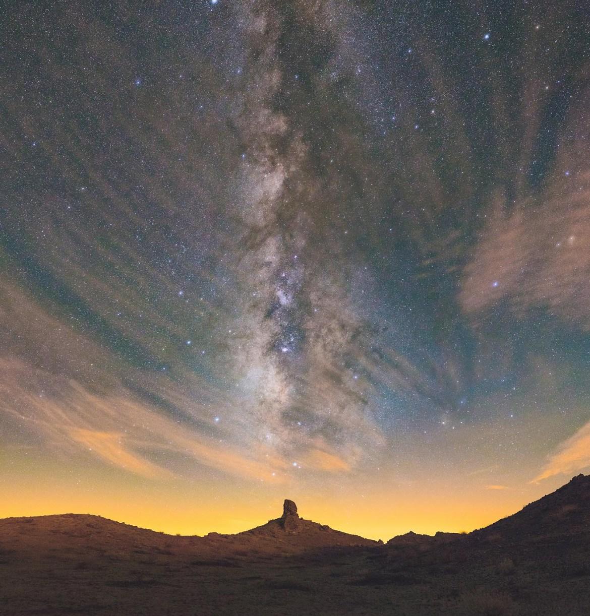 Photo récente de la Voie lactée