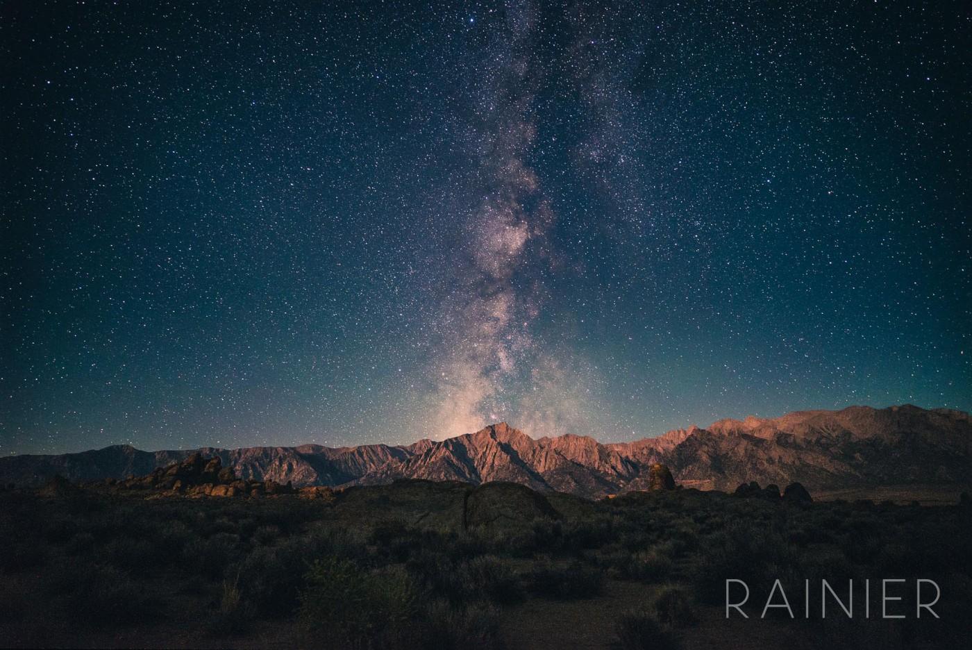 Rainier Milky Way Astrophotography Lonely Speck Lightroom Preset 2 Lonely Speck