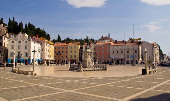Piazza Tartini, Pirano (Foto: Caterina Chimenti / Lonely Traveller, licenza CC 2.0)