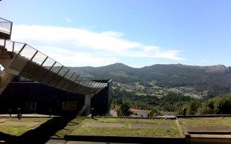 Vigo, la vista dal Campus universitario