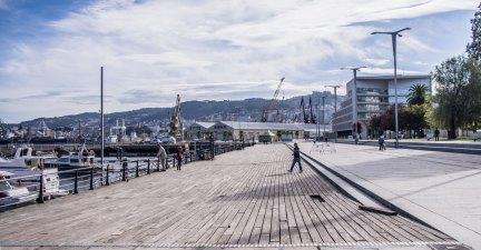 Vigo, il porto turistico