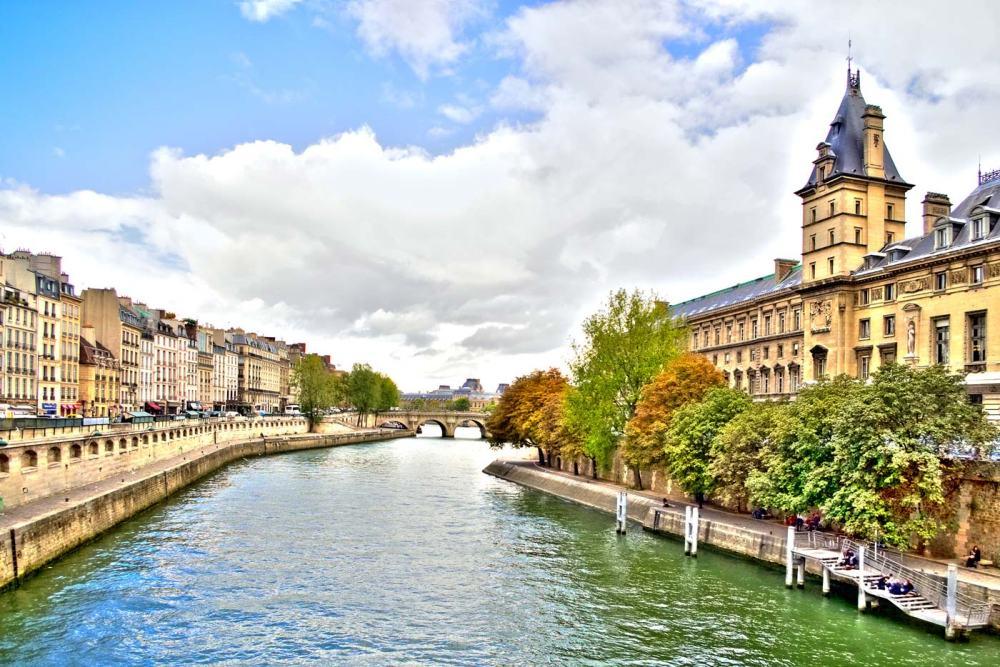 Parigi, vista dal Pont St. Michel, foto Caterina Chimenti