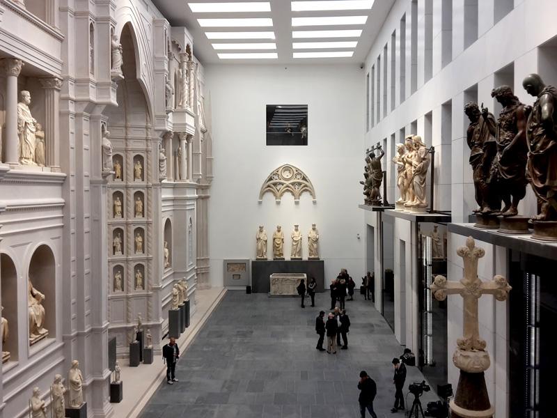 Grande Museo del Duomo, affaccio sulla sala della facciata