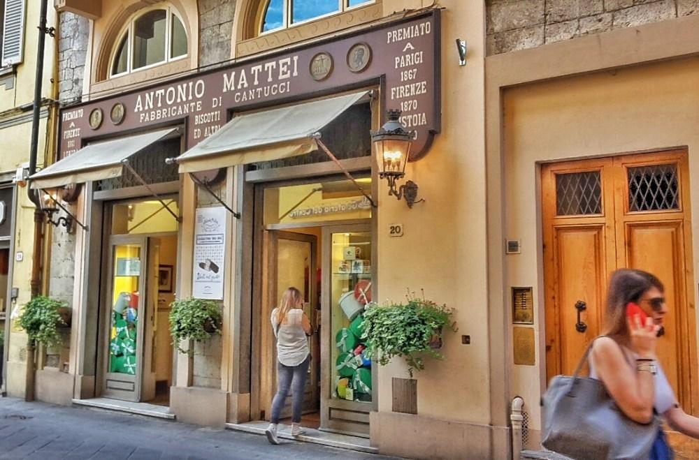 Biscottificio Antonio Mattei, Prato
