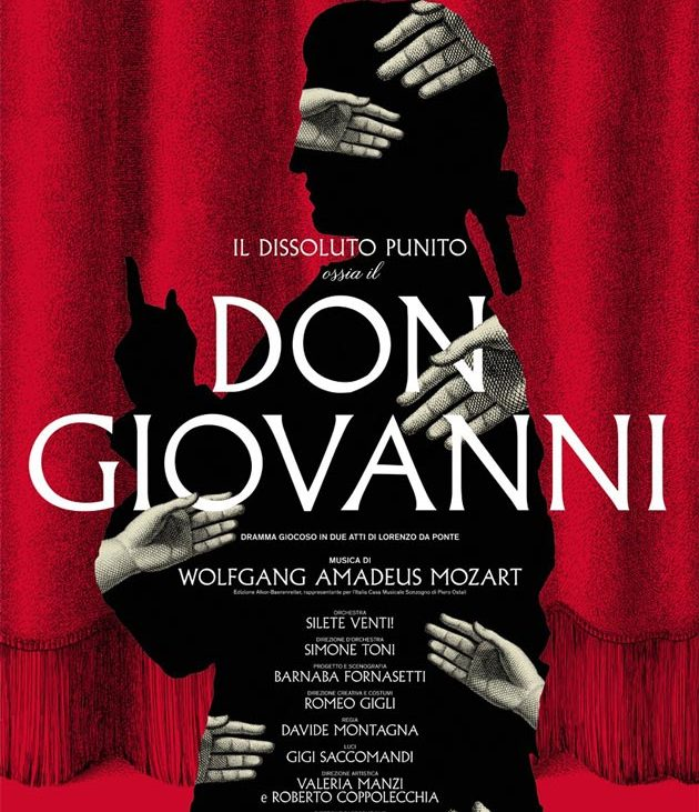 """La locandina de """"Il dissoluto punito ovvero Don Giovanni"""""""