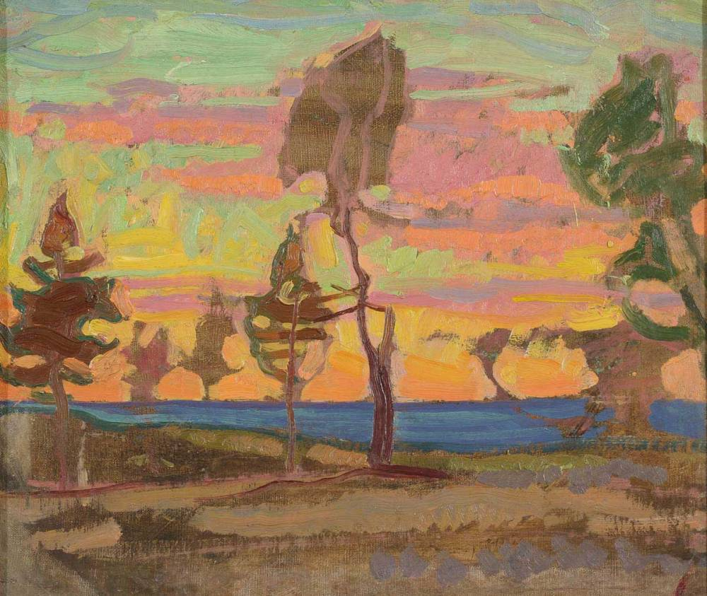 Nikolai-Triik <em>Paesaggio Finlandese</em>