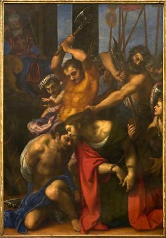 Cigoli, Martirio di san Giacomo e Josia