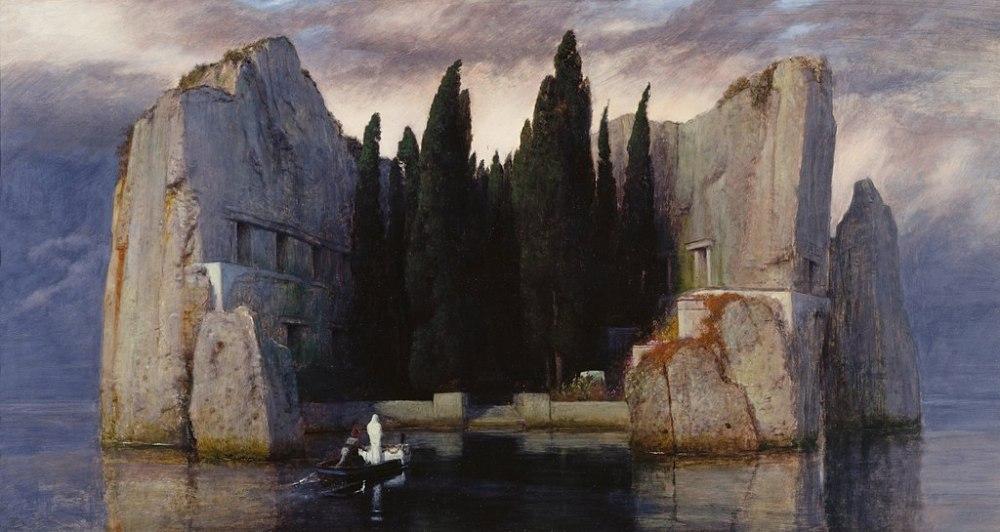 Arnold Böcklin, Isola dei Morti, III Versione