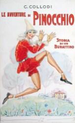 Corrado Sarri, Pinocchio, copertina, acquerello, matita su carta