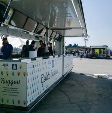 Lo stand ufficiale di Gelato Festival