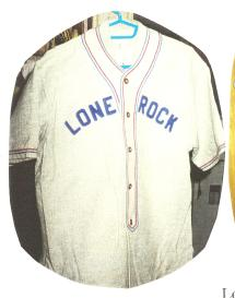 Lone Rock Baseball Uniform
