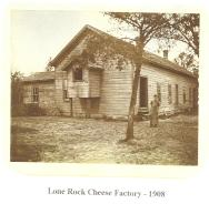 Lone Rock Cheese Factory - 1908