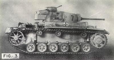 [Figure 3: German Panzer III (PzKw 3)]