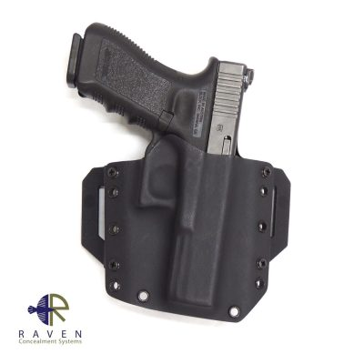 The Raven Concealment OWB Pancake Wings work perfectly with the Raven Concealment Phantom holsters