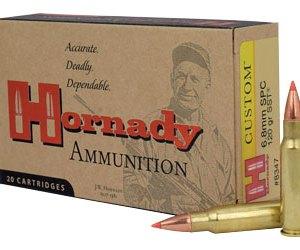 Hornady 6.8MM SPC 120GR SST – 20rd Box