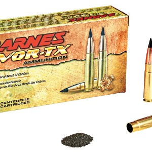 Barnes VOR-TX 300 AAC Blackout 110gr TAC-TX Flat Base – 20rd Box