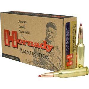Hornady 6mm Creedmoor 108gr ELD Match