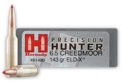 Hornady 6.5 Creedmoor 143gr ELD-X Precision Hunter