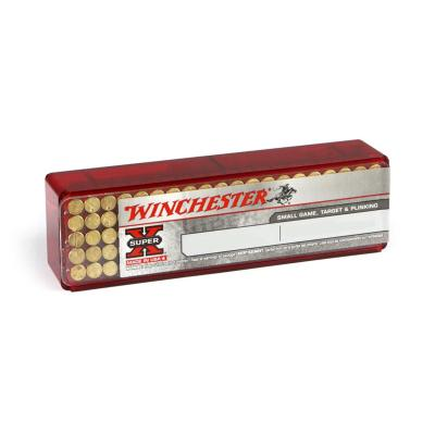 Winchester .22 LR Super X 40gr Power Point copper plated