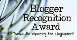 May 2017 – Nominated for the Blogger Recognition Award by Barb of the Decluttering the Stuff blog