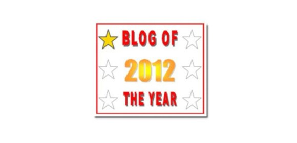 My Blog of the Year 2012 Award