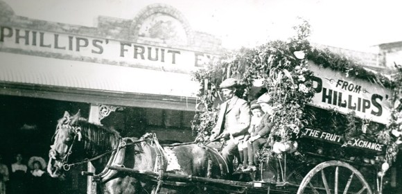 Then and Now: Phillips' Fruit Exchange, Kadina