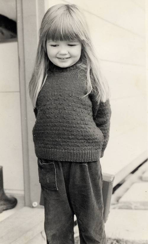 Alona Phillips, c.1978 (age about 5)