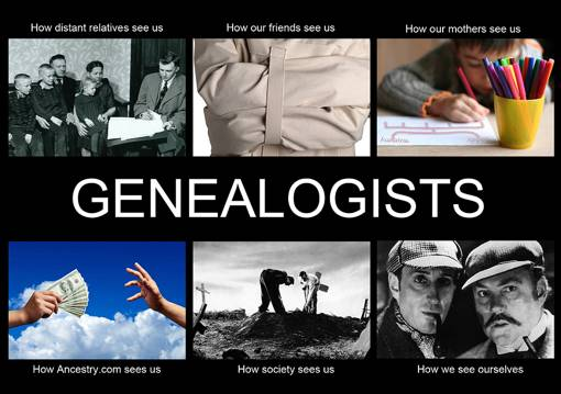 Genealogists - how we see ourselves