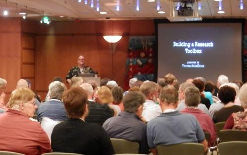 Thomas MacEntee on the 4th Unlock the Past Cruise
